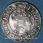 Monnaies Autriche. Ferdinand I (1522-1564). 3 kreuzer 1547. Linz