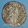 Monnaies Autriche. Ferdinand I (1522-1564). 3 kreuzer 1557. Linz