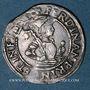Monnaies Autriche. Ferdinand I (1522-1564). 6 kreuzer. Hall (Tyrol)