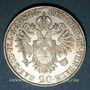 Monnaies Autriche. Ferdinand I (1835-1848). 20 kreuzers 1844A. Vienne