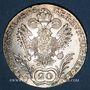 Monnaies Autriche. François II, empereur du Saint Empire (1792-1806). 20 kreuzers 1806C