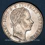 Monnaies Autriche. François Joseph I (1848-1916). 1 florin 1860A. Vienne