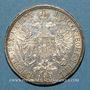 Monnaies Autriche. François Joseph I (1848-1916). 1 florin 1875