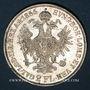 Monnaies Autriche. François Joseph I (1848-1916). 2 florins 1866A. Vienne
