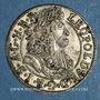 Monnaies Autriche. Léopold I (1657-1705). 3 kreuzer 1689. Hall