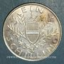 Monnaies Autriche. République. 1 schilling 1924