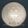 Monnaies Autriche. République. 100 schilling (1974). Jeux olympiques d'hiver d'Innsbruck -Emblème olympique