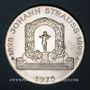 Monnaies Autriche. République. 100 schilling 1975. Johann Strauss