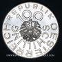 Monnaies Autriche. République. 100 schilling 1976. Jean Nestroy