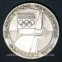 Monnaies Autriche. République. 100 schilling (1976). Jeux olympiques d'hiver d'Innsbruck. Tremplin - aigle
