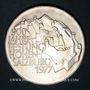 Monnaies Autriche. République. 100 schilling 1977. 900e anniversaire de la forteresse de Salzbourg