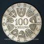 Monnaies Autriche. République. 100 schilling 1977. Kremsmünster - 1200e anniversaire