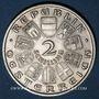 Monnaies Autriche. République. 2 schilling 1928. Schubert