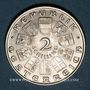 Monnaies Autriche. République. 2 schilling 1931. Mozart