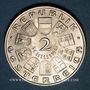Monnaies Autriche. République. 2 schilling 1932. Haydn