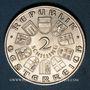 Monnaies Autriche. République. 2 schilling (1933). Seipel