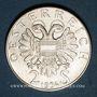 Monnaies Autriche. République. 2 schilling 1934. Dollfus