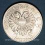 Monnaies Autriche. République. 2 schilling 1935. Lueger