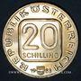 Monnaies Autriche. République. 20 schilling 1983. Hochosterwitz