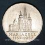 Monnaies Autriche. République. 25 schilling 1957. Mariazell