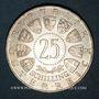 Monnaies Autriche. République. 25 schilling 1958. von Welsbach