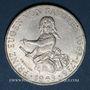 Monnaies Autriche. République. 25 schilling 1963. Prince Eugène de Savoie