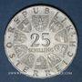 Monnaies Autriche. République. 25 schilling 1968. 300e anniversaire de la naissance de von Hildebrandt