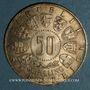 Monnaies Autriche. République. 50 schilling 1964. 9e Jeux Olympiques à Innsbruck