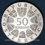 Monnaies Autriche. République. 50 schilling 1965. Université de Vienne