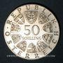 Monnaies Autriche. République. 50 schilling 1978. Franz Schubert