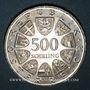 Monnaies Autriche. République. 500 schilling 1980. 100e anniversaire de la Croix Rouge autrichienne