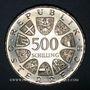 Monnaies Autriche. République. 500 schilling 1982. 500e anniversaire de l'imprimerie en Autriche