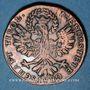 Monnaies Autriche. Révolution d'Andreas Hofer (1809). 1 kreuzer 1809