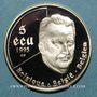 Monnaies Belgique. Albert II (1993- 2014). 25 écu 1995. 50e anniversaire de l'ONU. (PTL 925/1000. 22,85 g)