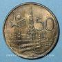 Monnaies Belgique. Baudouin I (1951-1993). 50 francs 1958