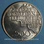 Monnaies Belgique. Baudouin I (1951-1993). 500 francs 1980. Légende flamande