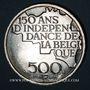 Monnaies Belgique. Baudouin I (1951-1993). 500 francs 1980. Légende française