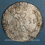 Monnaies Belgique. Brabant. Philippe IV (1621-1665). Patagon 1651. Anvers