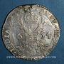 Monnaies Belgique. Brabant. Philippe IV (1621-1665). Patagon 1654. Anvers