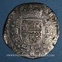 Monnaies Belgique. Flandres. Philippe IV (1621-1665). Patagon 1657. Bruges
