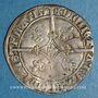 Monnaies Belgique. Flandres. Philippe le Bon (1433-1467). Double gros