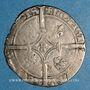Monnaies Belgique. Hainaut. Philippe le Bon (1433-1467). Double gros. Valenciennes