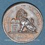 Monnaies Belgique. Léopold I (1831-1865). 2 centimes 1833