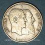 Monnaies Belgique. Léopold II (1865-1909). 1 franc 1880. Type du cinquantenaire