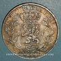 Monnaies Belgique. Léopold II (1865-1909). 5 francs 1872