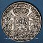 Monnaies Belgique. Léopold II (1865-1909). 5 francs 1873. Position A