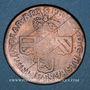 Monnaies Belgique. Namur. Philippe V (1700-1711). Double liard 1709