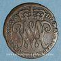 Monnaies Ecosse. Guillaume-Henri et Marie (1689-1694). 2 pence 1692