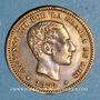 Monnaies Espagne. Alphonse XII (1874-1885). 5 centimos 1878 OM