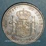 Monnaies Espagne. Alphonse XII (1874-1885). 5 pesetas 1878/78 DE-M